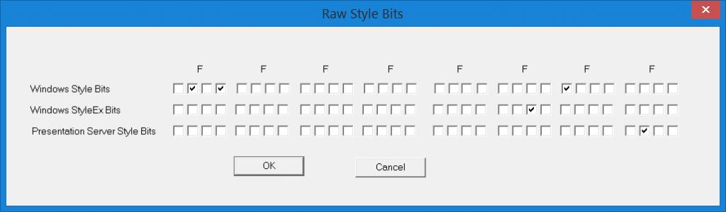 RawStyleBits