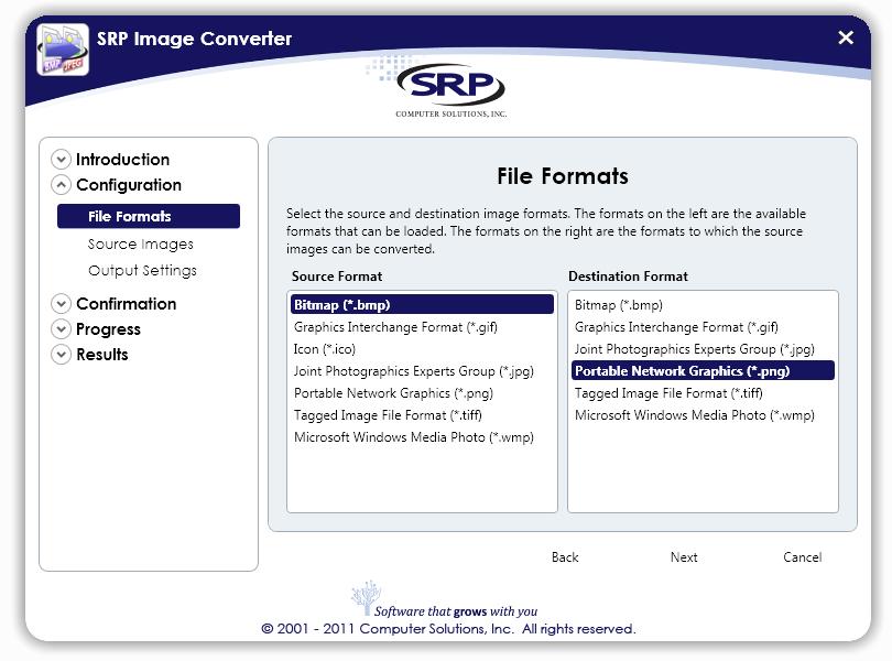 SRP Image Converter