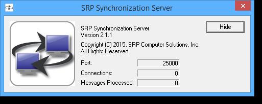 SRP Sync Server 1